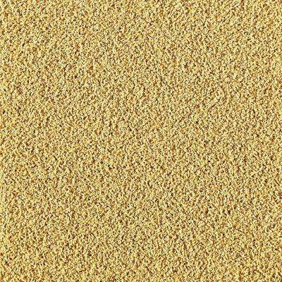 In The Deep Maize 19.7 in. x 19.7 in. Carpet Tile (6 Tiles/Case)