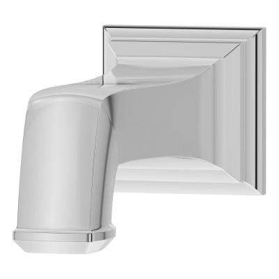 Oxford 6 in. Non-Diverter Tub Spout in Polished Chrome