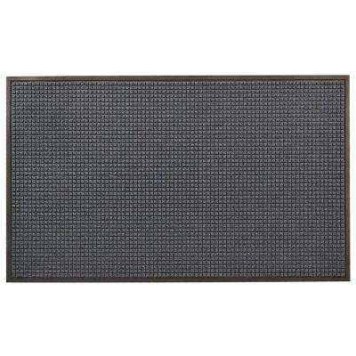 Guzzler Blue 36 in. x 120 in. Rubber-Backed Entrance Mat