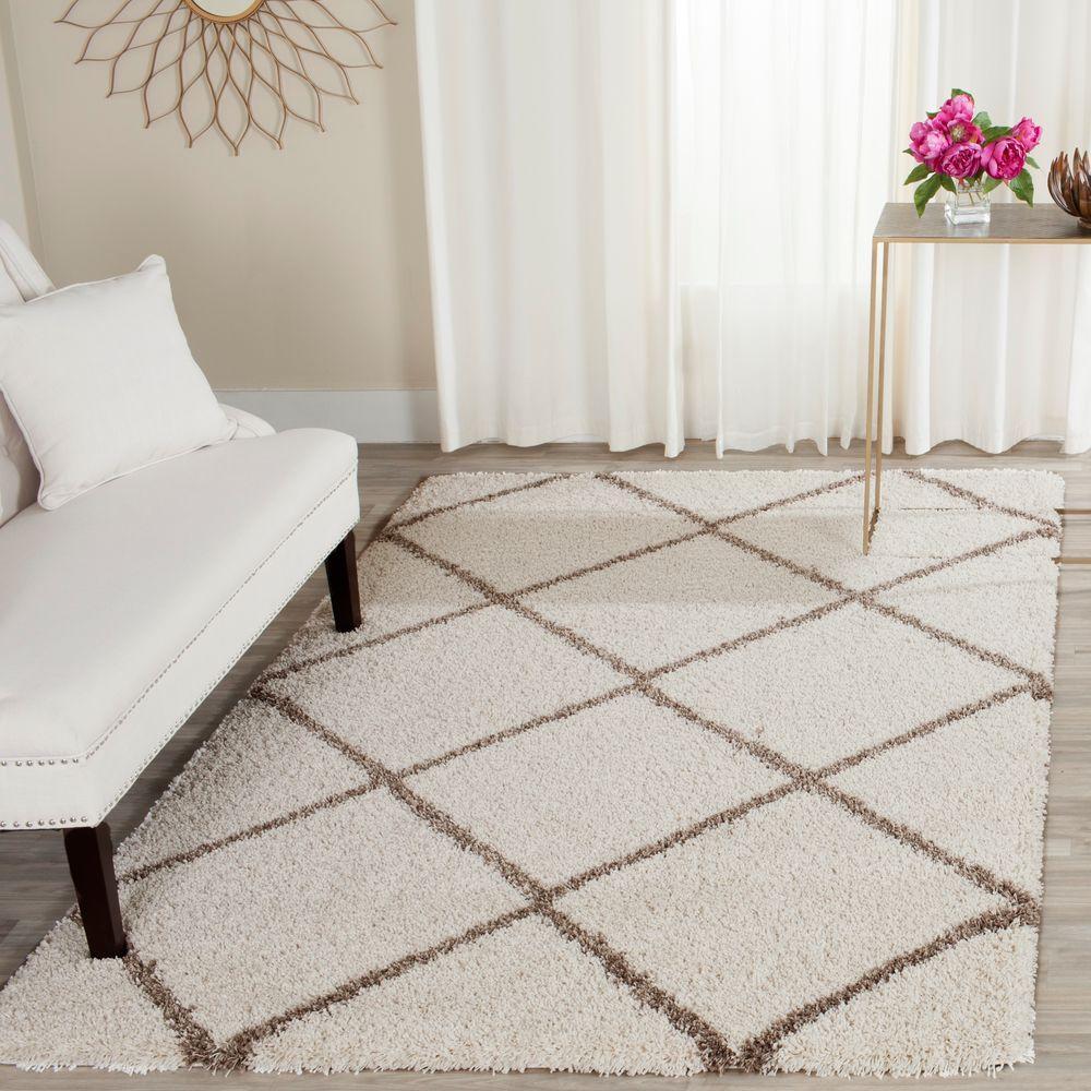 safavieh hudson shag ivorybeige 4 ft x 6 ft area rug