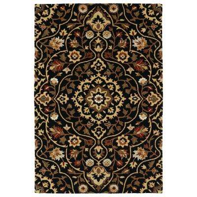 Middleton Black 2 ft. x 3 ft. Area Rug