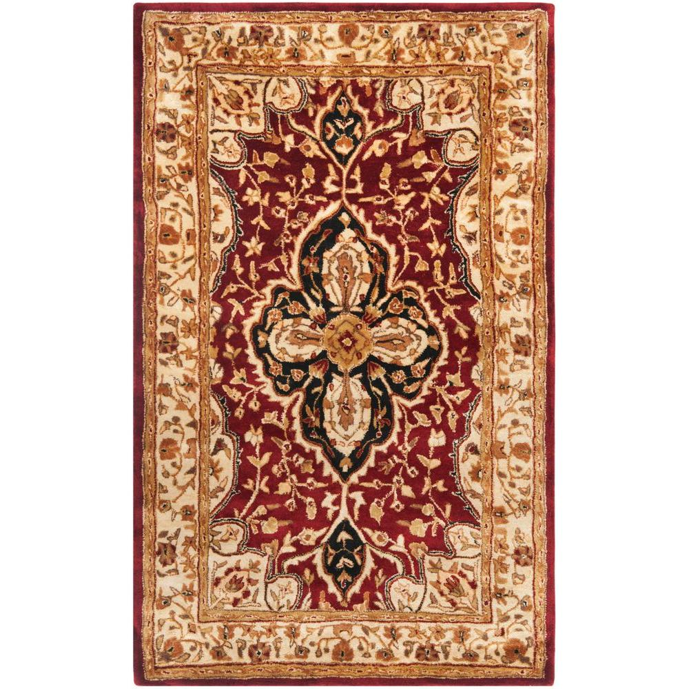 Safavieh Persian Legend Red/Beige 3 ft. x 5 ft. Area Rug