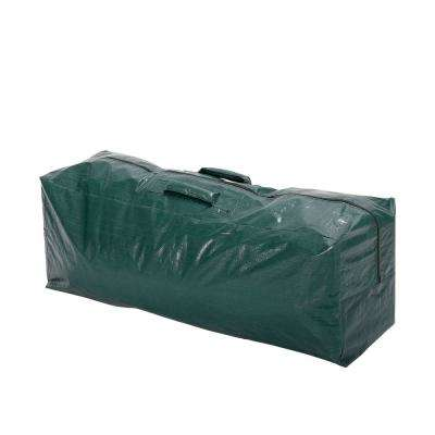 57.5 in. x 15.5 in. x 21.5 in. Green Plastic Christmas Tree Storage Bag