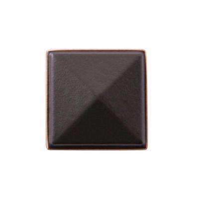 Symmetry 1-1/4 in. Square Oil Rubbed Bronze Knob