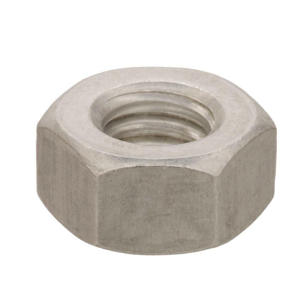 Everbilt 4 40 Aluminum Machine Screw Nuts 4 Pieces 30528 The