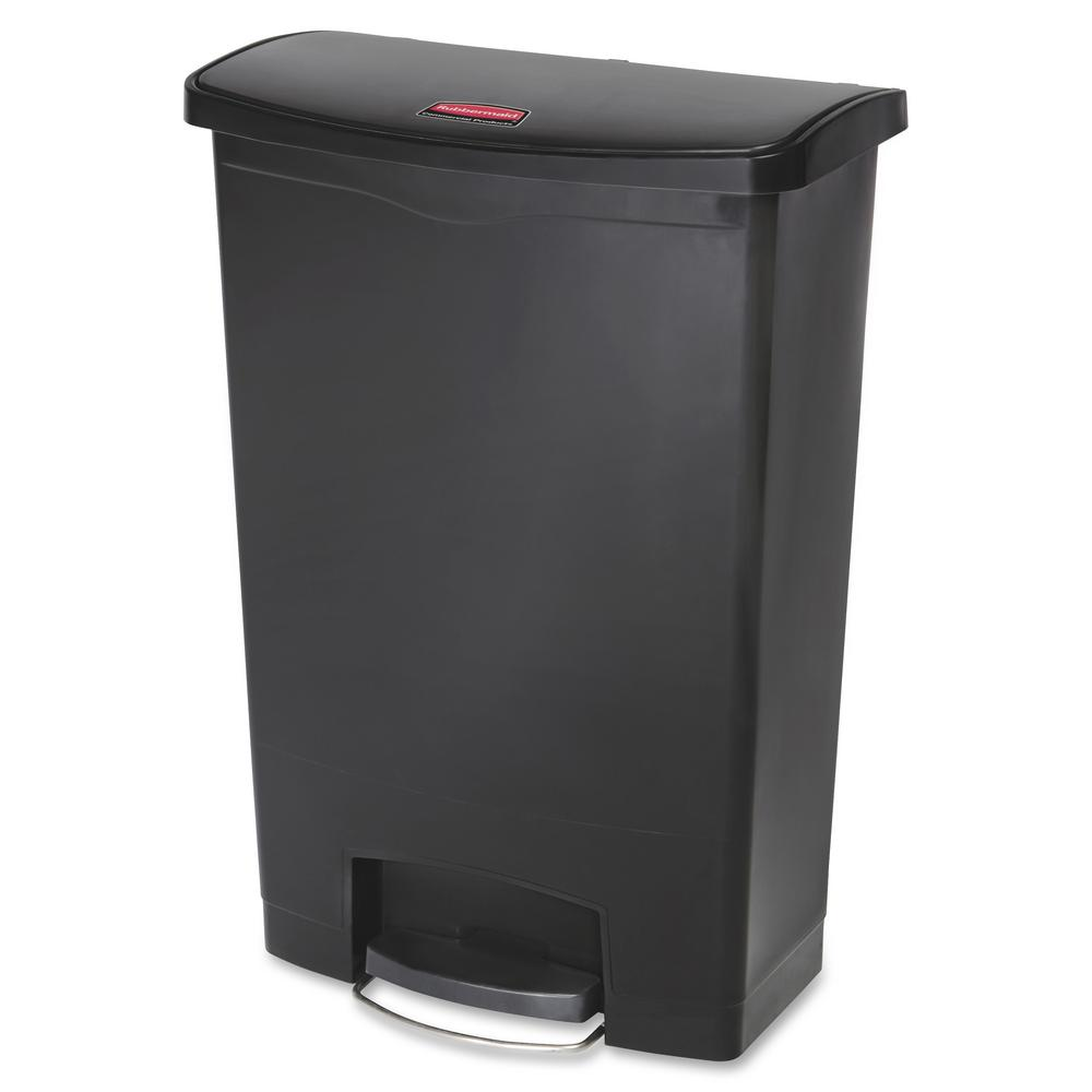 32.5 in. H x 13.9 in. W 24 Gal. Black Front