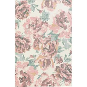 Madeline Bella Blush Pink 2 ft. x 3 ft. Indoor Area Rug