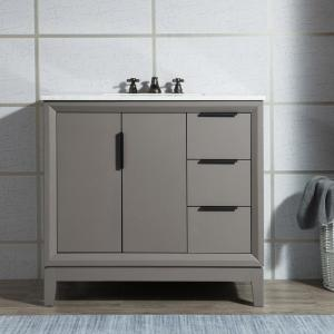 Water Creation Elizabeth Collection 36 in  Bath Vanity in