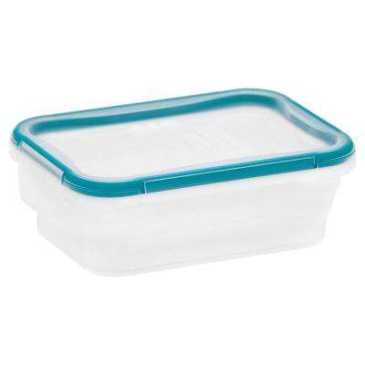 Total Solutions 3-Cup Plastic Rectangle Storage Container