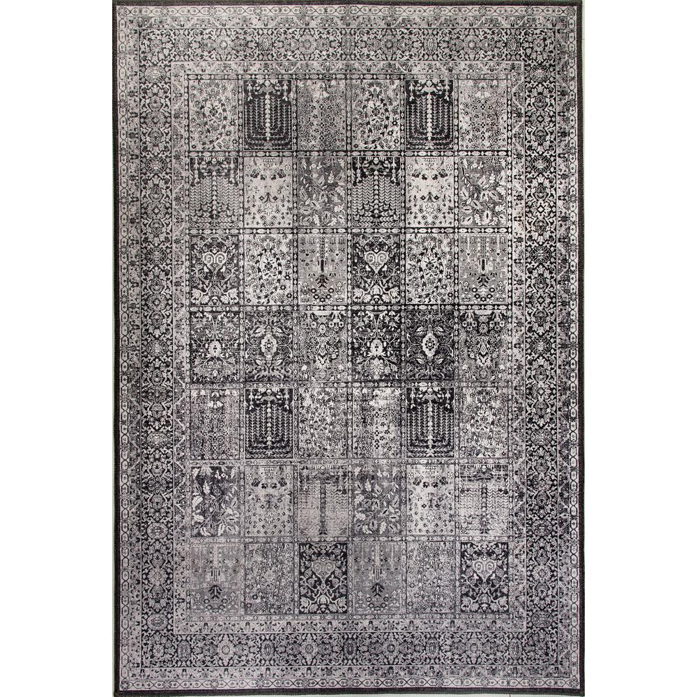 Aura Gray 8 ft. x 11 ft. Indoor Area Rug