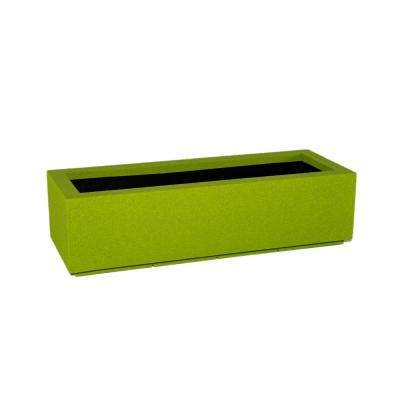 Riviera 46 in. x 12 in. Greenery Trough Planter
