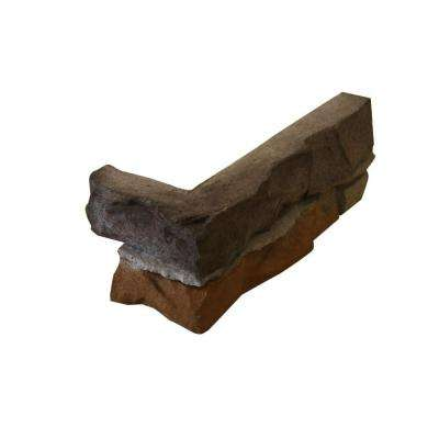 Go-Stone Corners #26 Cherokee 8 in. x 4 in. Stone Panels (4 lin. ft./Box)