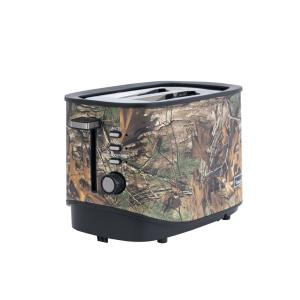 2-Slice Realtree Xtra Camouflage Wide Slot Toaster with Crumb Tray