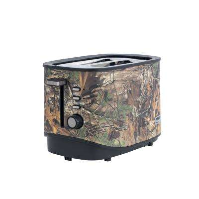 2-Slice Realtree Xtra Camouflage Toaster