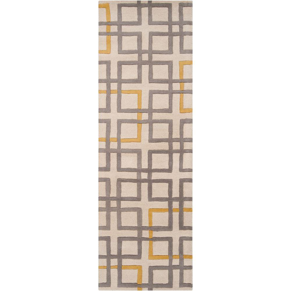Artistic Weavers Antioch Beige 2 ft. 6 in. x 8 ft. Rug Runner