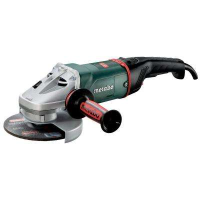 15 Amp Corded 7 in. W 24-180 MVT Quick Angle Grinder