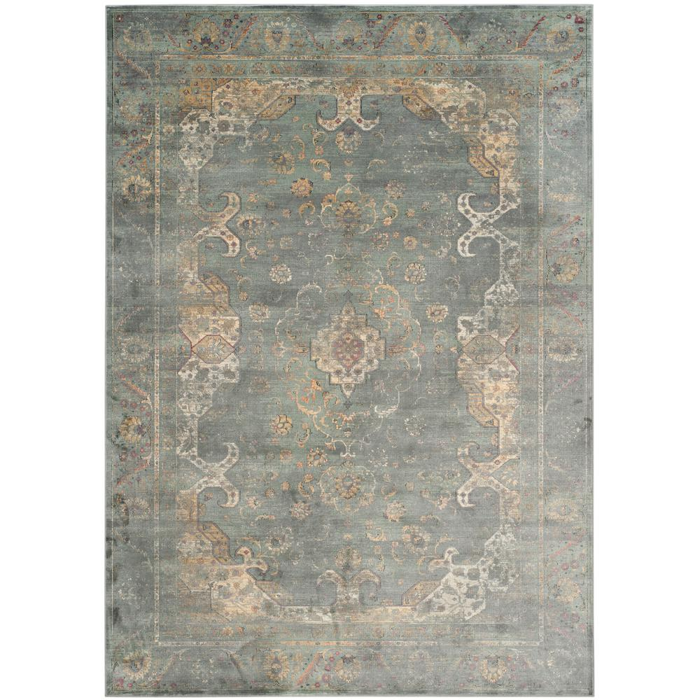Safavieh Vintage Gray Multi 5 Ft X 8 Ft Area Rug Vtg137