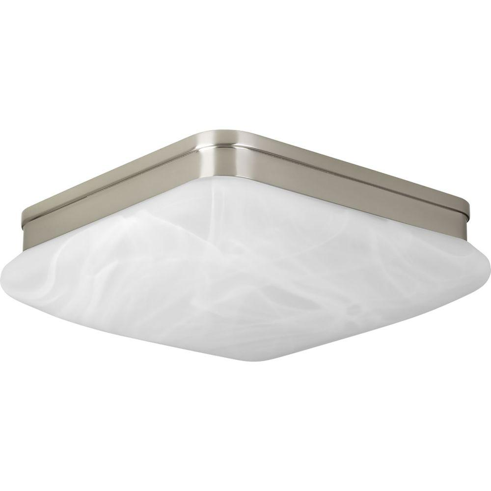 Progress Lighting Appeal Collection 2-Light Brushed Nickel Bathroom Vanity Light
