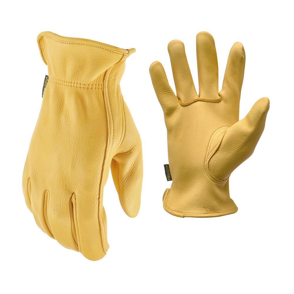 X-Large Full Grain Deer Skin Gloves