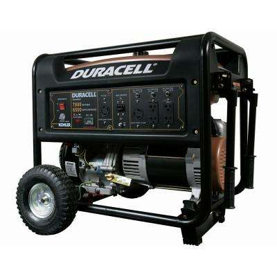 7,800-Watt Gas Powered Portable Generator with 1 Kohler Recoil Start Engine