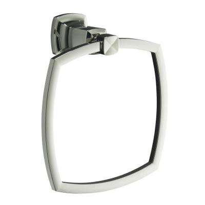 Margaux Towel Ring in Vibrant Polished Nickel