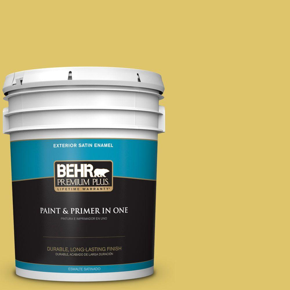 5-gal. #380D-5 California Dreaming Satin Enamel Exterior Paint