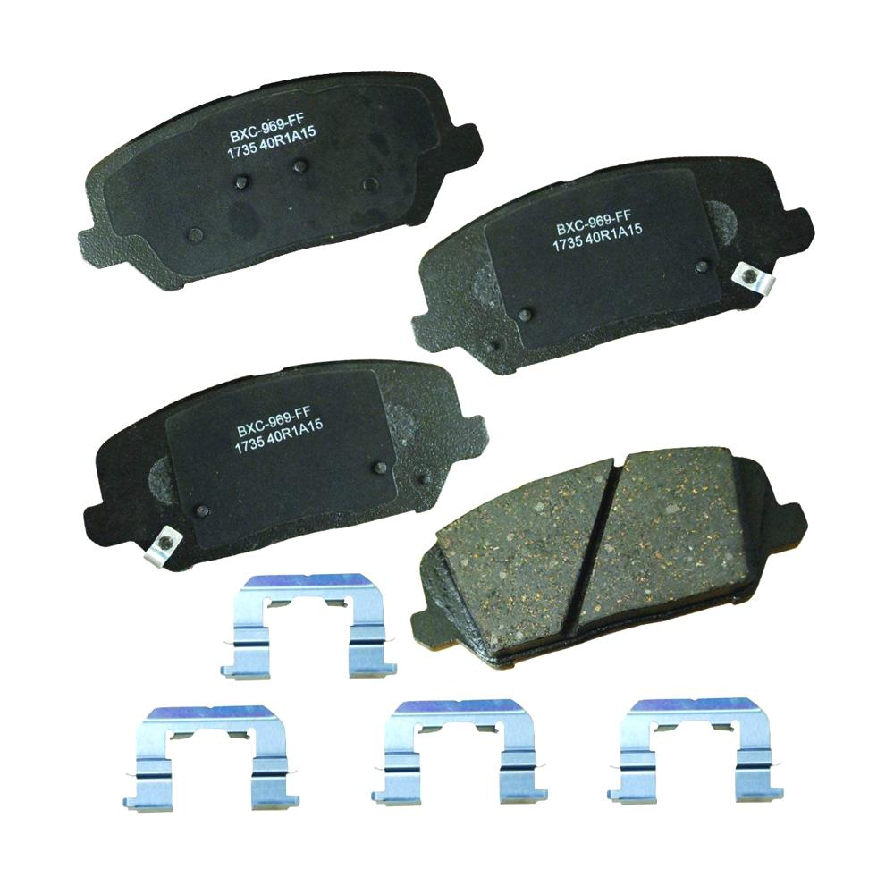 STOP BY BENDIX Disc Brake Pad Set 2011-2012 Acura TSX