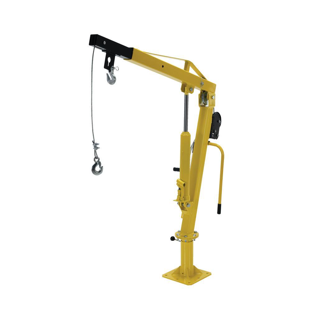 Jib Cranes Images : Vestil ext winch operated truck jib crane wtj the