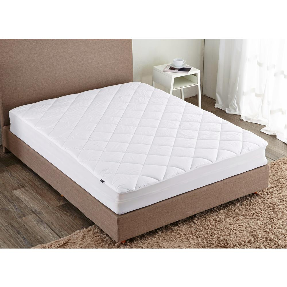 400 Thread Queen Count Stain Resistant Mattress Pad P2014 0010 Q