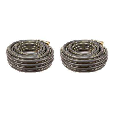 3/4 in. x 50 ft. Professional Duty Water Hose (2-Pack)