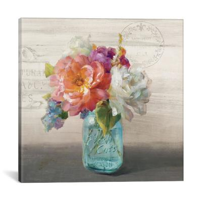 French Cottage Bouquet I by Danhui Nai Wall Art