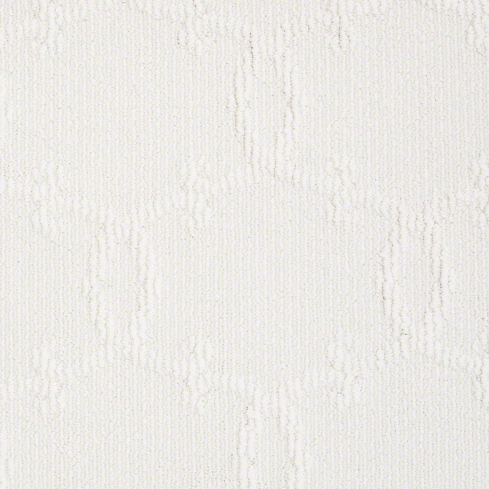 Carpet Sample - Manhattan - In Color Snowflake 8 in. x 8 in.