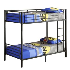 8ac5a8175c6d Walker Edison Furniture Company Sunset Twin Over Twin Metal Bunk Bed-HDTOTBL  - The Home Depot
