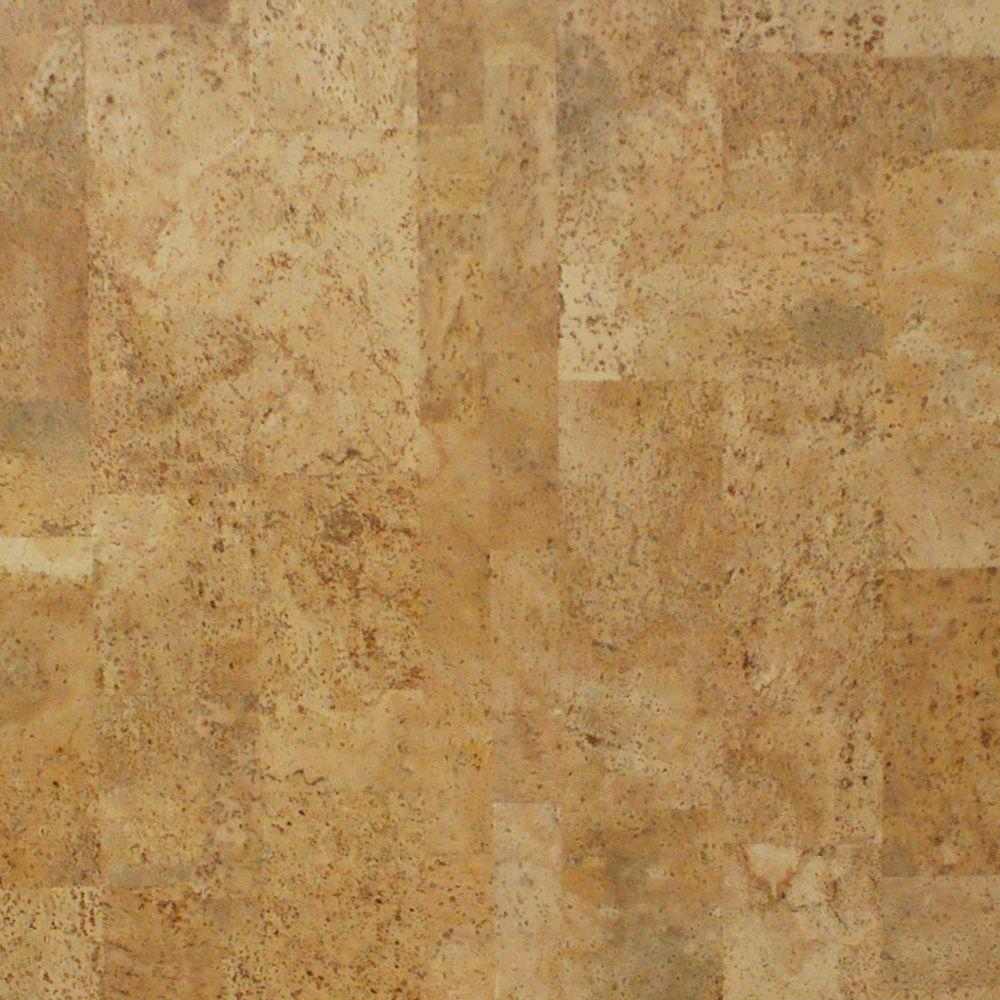 Take Home Sample - Cobblestone Click Cork Flooring - 5 in.