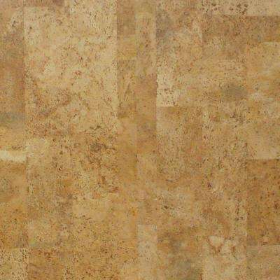 Take Home Sample - Cobblestone Click Cork Flooring - 5 in. x 7 in.