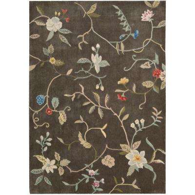 Contour Tobacco 7 ft. 3 in. x 9 ft. 3 in. Area Rug