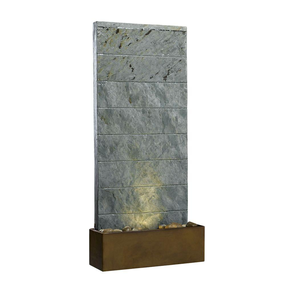 Kenroy Home Brook Lighted Indoor 25 in. Table and Wall Fountain