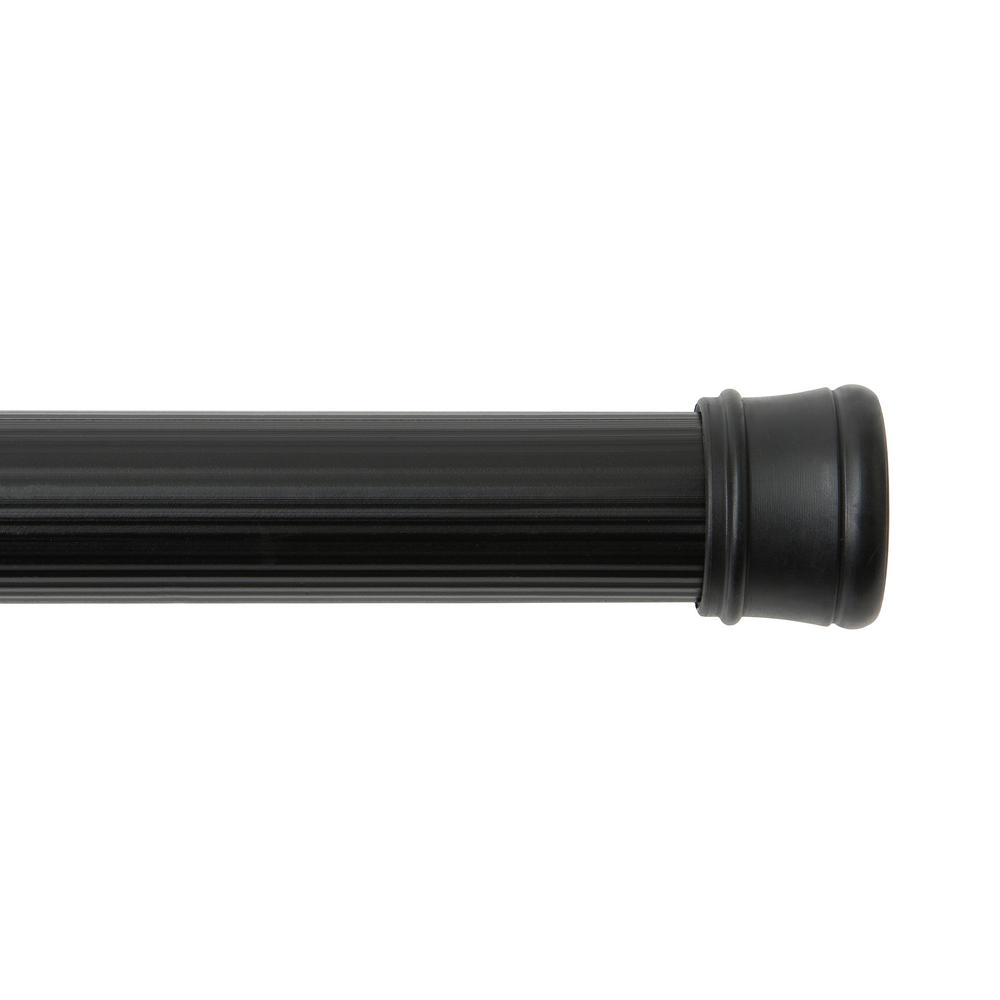 Utility Tension Rod In Black