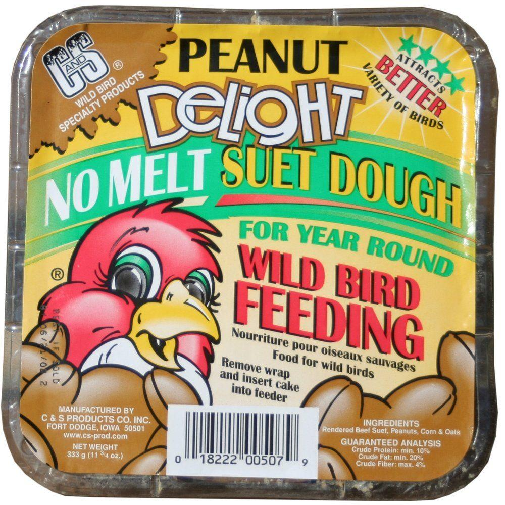 C & S Products Peanut Delight 0.73 lb. Wild Bird Suet