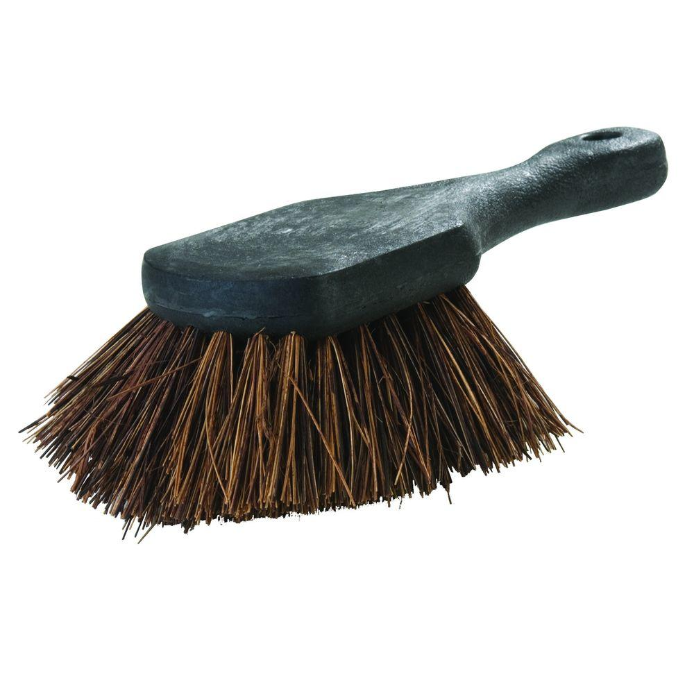 Carlisle 8.5 in. Stiff Palmyra Bristle Utility Scrub Brush (Case of 12)