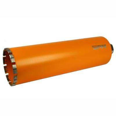 4-1/2 in. Diamond Turbo Core Drill Bit for Concrete Drilling