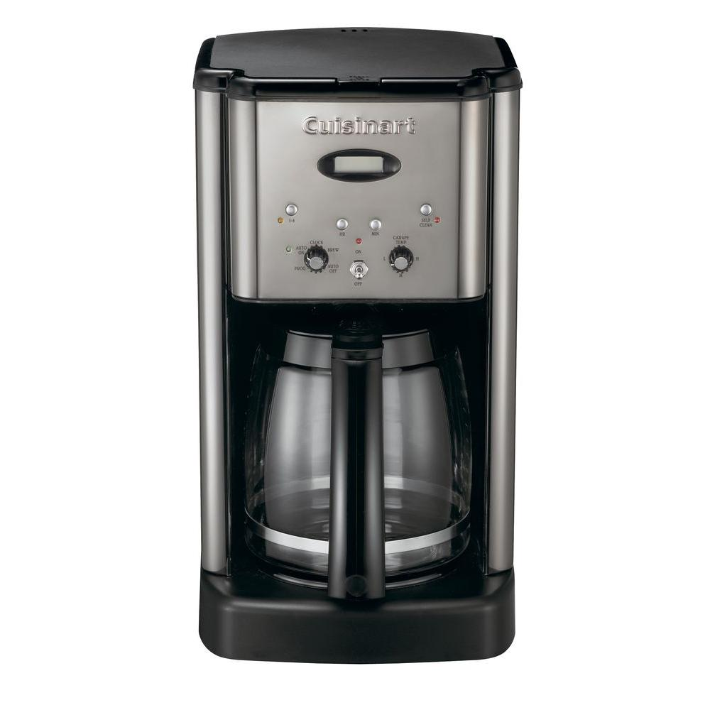 Cuisinart Brew Central 12-Cup Programmable Coffeemaker in Brushed Chrome