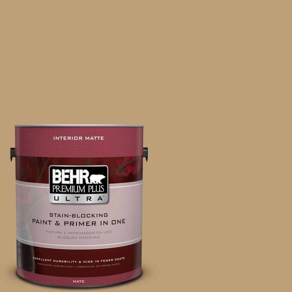 1 gal. #PMD-50 Winter Wheat Flat/Matte Interior Paint