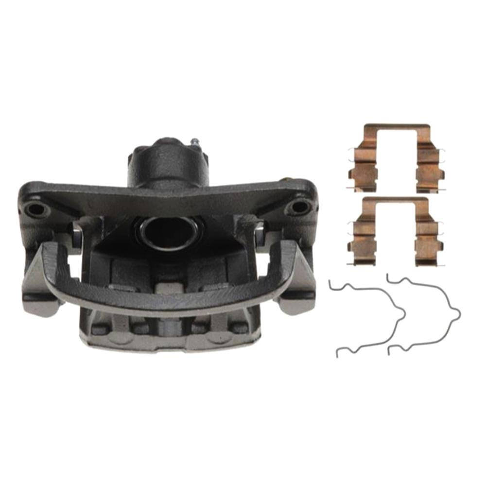 Disc Brake Caliper-Friction-Ready New Caliper with Bracket Rear Right Raybestos