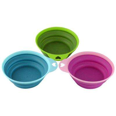 3-Piece Collapsible Silicone Serving Bowls