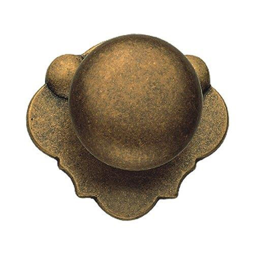 Classic Hardware Bosetti Marella 1.85 in. Antique Brass Distressed Knob