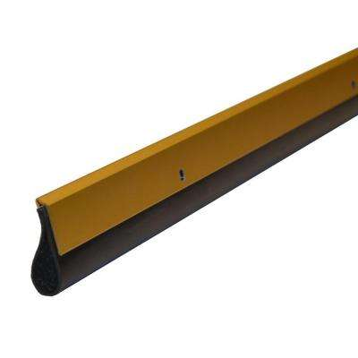 Residential 36 in. Gold Pest Control Door Sweep