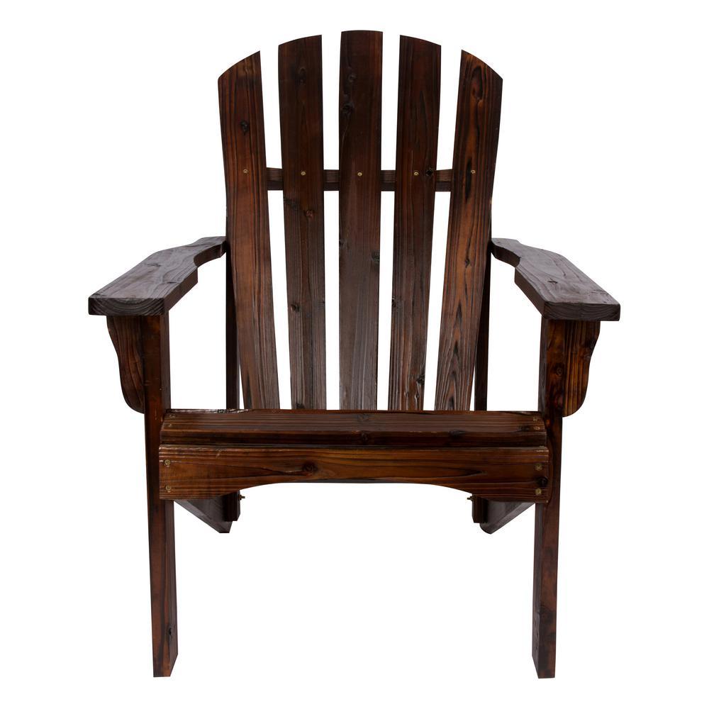 Rockport Cedar Wood Adirondack Chair - Bee's Wax