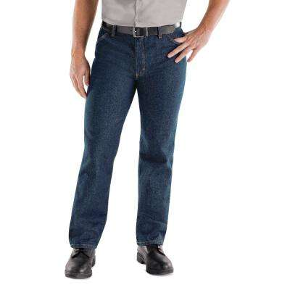 Men's Size 28 in. x 34 in. Prewashed Indigo Classic Work Jean