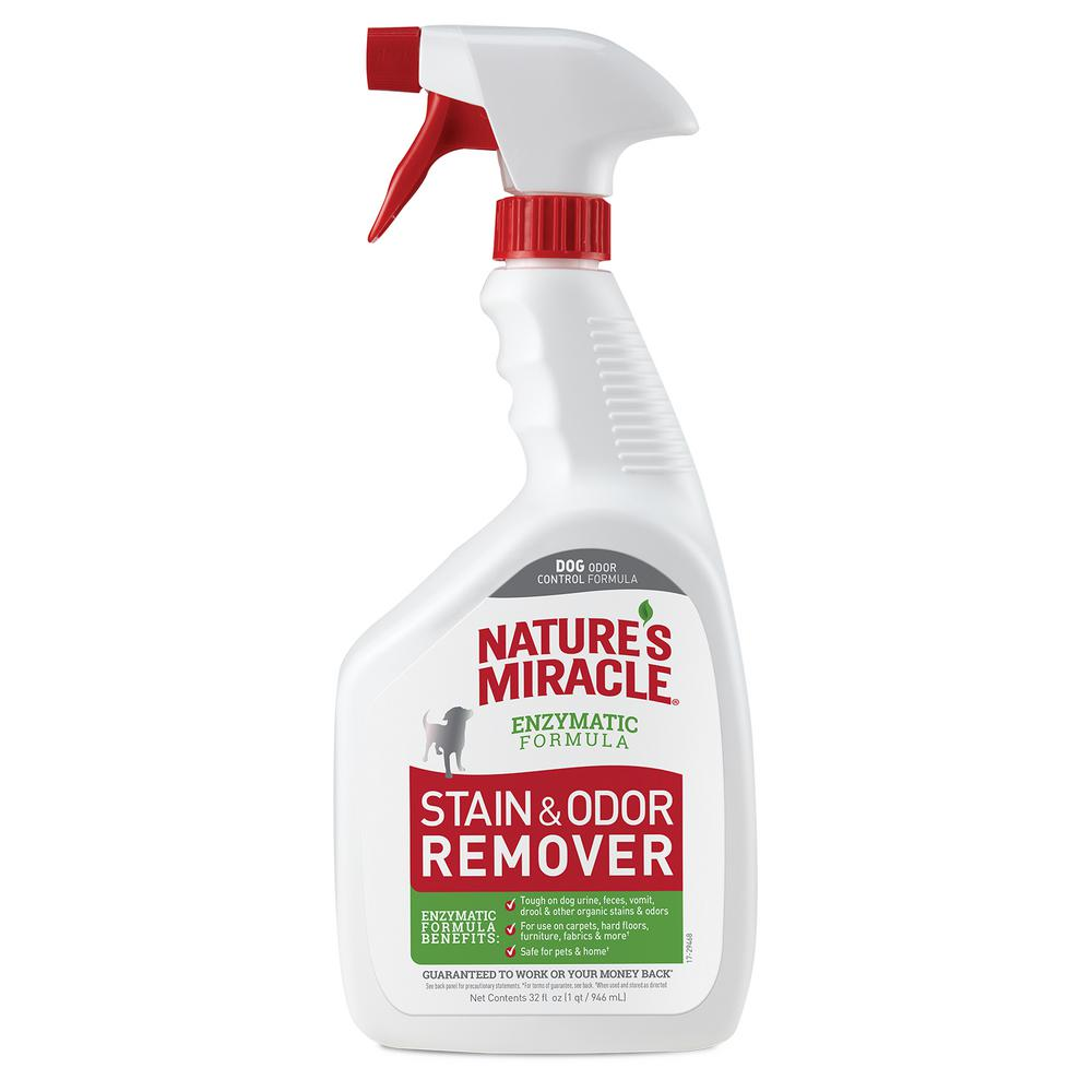 Nature S Miracle 32 Oz Dog Stain And Odor Remover Ready